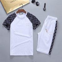 Mens Designer tracksuit Jogging Suit Sportswear Pullover Running Sweatshirt Men Short Sleeve Pants Fashion Sportswears M-3XL