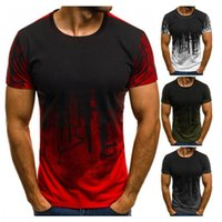 Men's T-Shirts 2021 Brand Summer Mens T Shirts Oversized Loose Clothes Vintage Short Sleeve Fashion Printed O Collared Tshirts For Men