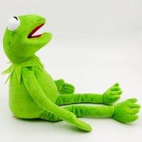 40см плюшевые лягушки кукла мягкие фаршированные животные игрушки kermit игрушки Dropshipping рождественский праздник подарок для детей