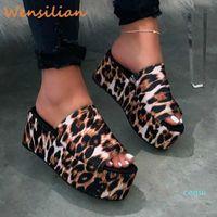 Ayakkabı Kadın Sandalet Yaz Platformu Bayanlar Sandalet Kadınlar Için 2020 Kadın Su Geçirmez Kama Moda Sandles Sandalias Mujer Y200620