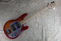 JKHG New + Factory Music Man Hombre Stingray5 Pickups activos Bajo Guitar Music Man 5 Strings Bass Guitar