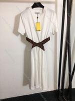 مثير النسائية اللباس fordwomen مصممين الملابس 2021 نوعية كبيرة بيضاء القطن الخالص جوفاء فتاة تنورة مرونة وغير متلاشى حجم S-L