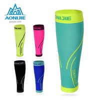 Bras de jambe chaussettes Aonijie Running Chaussettes Manches de compression professionnelle Strin Guard Cyclisme Football Basketball Sports Sport