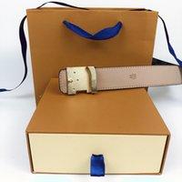 Erkekler Tasarımcı Kemer Erkek Bayan Moda Kemerler Hakiki Deri Erkek Kadın Casual Kot Vintage Yüksek Kaliteli Askı Kemer Genişliği 3.8 cm Kutusu