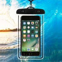 Universal Dry beach Bag Waterproof Cases Luminous Pouch case Water Proof Diving Swimming For Smart Phone