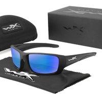 야외 안경 Wiley x 스포츠 선글라스 UV400 전술 안경 군사 고글 여성 남성 하이킹 산 MTB 사이클링