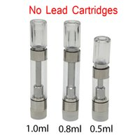 Lead Free M6T Vape Atomizer Disposable Vapes Cartridge Ceramic Coil for Delta 8 Oil fit 510 Thread Preheating Battery