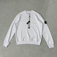 Mode Designers Femme Coton Casual Sweat à capuche Homme Tricoté Black and White Crewneck Pullfover Classic Quality Sports Jumper 21081012zy