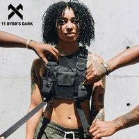 11 Bybb's Dark 2020 хип-хоп Уличная одежда Мужчины Тактические сумки на плечо Сумка на грудке Сумка мужской Функциональный талии Регулируемые карманы LJ200930