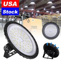 LED High Bay Light 50W 100W 200W 300W 500W 6500K Cool White UFO Flood Lights suitable for lighting in basements, exhibition halls, stadiums and other places