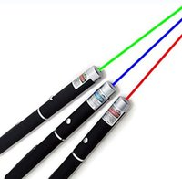 Great Powerful Green Blue Purple Red Laser Pointer Pen Stylus Beam Light Lights 5mW Professional High Power Lasers SN4205