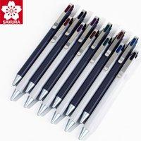 Япония Sakura Gel Pen, Push-Type Retro Elegant на водной основе подписи, высококачественная текстура ручки
