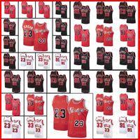 NCAA MJ 23 Майкл Ретро Джерси Деннис 91 Родман Скотти 33 Pippen Stripes ChicagoNess 1995 1996 MENBБыки Баскетбол Джерси