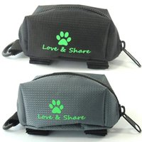 Poop Bag Dispenser, Dog Holder Leash Attachment - Walking, Running Or Hiking Accessory Car Seat Covers