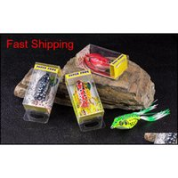 Top Quality Lures 55Cm13G Baits Soft Rubber Frog Bait Fishing Lure Tackle O8138 Xncay