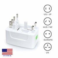 Power Plug Converter Universal Travel Wall Charger Socket Adapter AC US/AU/UKEU C0045 US STCOK