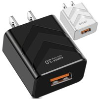 Quick Charging EU US UK QC3.0 AC Home Travel Wall charger Adapters For IPhone 7 8 11 12 Samsung Tablet PC Mp3