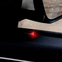 Auto Fake Solar Power Alarm Lampe Sicherheitssystem WARNUNG Diebstahl WARNUNG N0HF Interiorexternale Lichter
