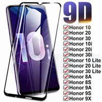 9D Full Protection Glass For Huawei Honor 10 20 30 Lite 10i 20i 30i 8X 8A 8S 9X 9A 9S 9C Tempered Screen Protective Safety