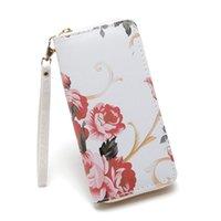 Wallets Wallet Women Mobile Phone Bag Brand Designer Female Card Pu Leather Long Womens And Purses Ladies Slim Holder