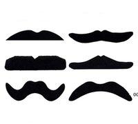 NewnewParty 가짜 콧수염 할로윈 장식 코스프레 의상 참신 재미 있은 수염 핸들 바 크리스마스 선물에 대 한 콧수염 ewf6139