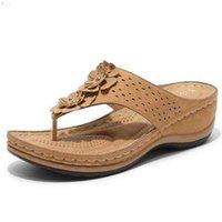 Yaz kadın jetleri düz plaj sandalet t kayış flip flops tong elastik bayanlar gladyatör barajlar Sandles 210619 cftp8lf4