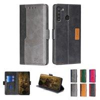 Retro Wallet Leather Flip Case Cases for Samsung Galaxy A51 A42 5G S20 FE A11 M31s A01 M01 Core Cover with Magnetic
