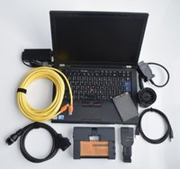V2021 the Newest ICOM A2 B C Diagnostic Tool for BMW Programming ISTA-D 4.29 in 720GB SSD WIN-10 with Used Laptop T410 i5 Cpu