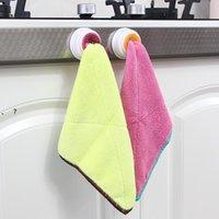 Lavar o clipe de gancho de pano prato de prato de lavagem de armazenamento toalhas de banheiro pendurado titular organizador organizador cozinha pad a toalha de mão NHE6791