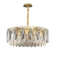 Pendant Lamps E14 Crystal Grey Clear Modern Industrial Kitchen Dinning Room Bedroom Luxruy Led Hang Indoor Light Loft Suspendues