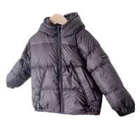 Children Down Coat Kids Winter Outwear Girls Clothes Baby Clothing Short Warm Hooded Jacket Coats B8404