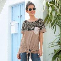 Женская футболка O-Sece Worldwear Карманные карманы Patchwork Regular Broadcloth Msfilia
