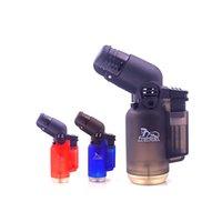 미니 1300C 금속 부탄 가스 토치 가벼운 방풍 제트 화염 토치 마이크로 담배 시가 가벼운 조정 가능한 스프레이 건 피크닉 도구
