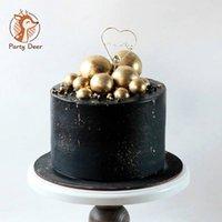 Другие мероприятия Party Party Actories 20 шт. / Пакет 2-4см шарикового торта Топпер творческий кекс вставка флаги карты для детского душа день рождения украшения любви г