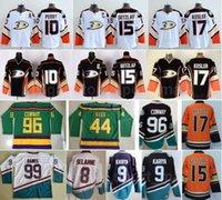2016 stadium serie Anaheim Enten Jerseys Hockey 10 Corey Perry 15 Ryan Getzlaf 17 Ryan Kesler 8 Teemu Selanne 9 Paul Kariya