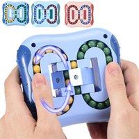 스트레스 방지 회전 매직 콩 손가락 끝 Fidget 성인 어린이 스트레스 릴리프 장난감 재미있는 교육 획기적인 게임