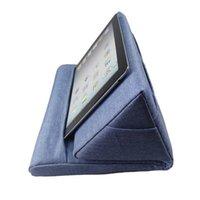 Montaje de teléfonos celulares soportes Portátil de almohada Espuma Lapdesk Pad Multifuncional Refrigeramiento de la tableta Soporte de la tableta Lap de reposo Cojín para iPad con
