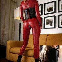 Юбка сексуальный M-XL плюс размер нижнего белья патент один кусок кожаный танец DRS женский DS игровой костюм