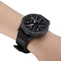 Watch Bands 22MM Nylon Watchband Stick-up Buckle Strap For Samsung Galaxy 3 45mm 46mm Gear S3 Convenient Bracelet HUAWEI GT 2 Belt