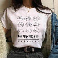 Kawaii Oya Haikyuu Kuroo Mens T Gömlek ve Kadın Anime Kadın Sinek Yüksek Grafik Tees Yaz Karasuno Japon Karikatür Tops