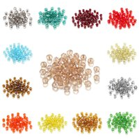 70-300pcs 3 4 6 8mm Translucent Czech Crystal Glass Bead Faceted Colorful Spacer Bead For DIY Bracelet Jewelry Making Supplies 806 T2