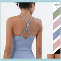 Gym Exercise Wear Athletic Outdoor Apparel & Outdoorsgym Clothing Amrzs Yoga Vest Sexy Small Sling Sports Bra Nude Beauty Back Fitness Under