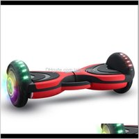 Kick Scooters Action Sports & Outdoors Drop Delivery 2021 8-Inch Car Children Adult Intelligent Bluetooth C9 Electric Two Wheel 95Jpb