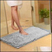 Bathroom Aessories Home & Garden Anti Slip Door Way Feet Mat Strip Doormat Floor Rug Kitchen Carpet Bath Mats Drop Delivery 2021 1Eo