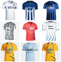 2021-22 Club America Soccer Jersey المكسيكي Liga Queretaro FC Leon Monterrey 15 Sepulveda 7 Davila 21 Henry 9 Janssen كرة القدم قميص أطقم موحدة