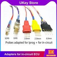 Strumenti diagnostici OKDIAG 5 PZ SONDES Adattatori per in-circuit ECU Lavoro con IPROG + Programmatore e XPROG senza cavo di saldatura