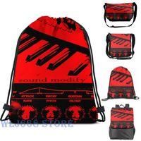 Backpack Funny Graphic Print Shoulder Bags Women Synth Keyboard Sound Modify Single Travel For Men Gym Bag