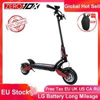 EU-Bestand Zero 10x Roller Dual Motor Electric Roller 52V 2000W E-Scooter 65km / h Doppelträger Hochgeschwindigkeitsroller Off Road