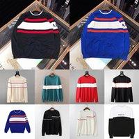 21SS бренд мужские дизайнеры свитера высокого качества Новый зимний мужской свитер свитер свитер с низким вырезом