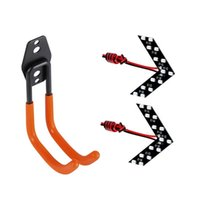 Hooks & Rails For EV Charger Wall J-Hook Charging Cable With 2PCS 14-SMD Car Side Rearview Mirror Turn Signal LED Lights